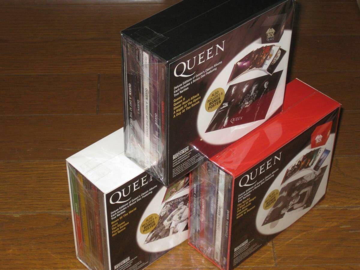 新品即決 限定!Queen(クィーン)・30CD・「コレクターズ・ボックス・セット VOL.1 2 3 リミテッド・エディション」オペラ座の夜