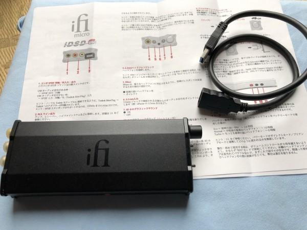 ★ iFi Audio ヘッドホンアンプ・DAC iFi micro iDSD Black Label(中古品) ★