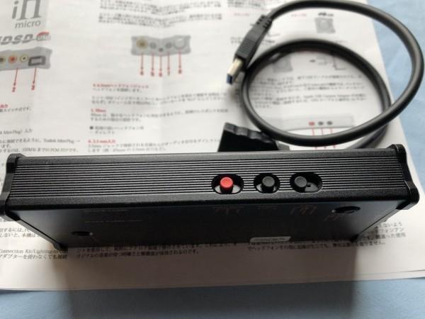 ★ iFi Audio ヘッドホンアンプ・DAC iFi micro iDSD Black Label(中古品) ★_画像6