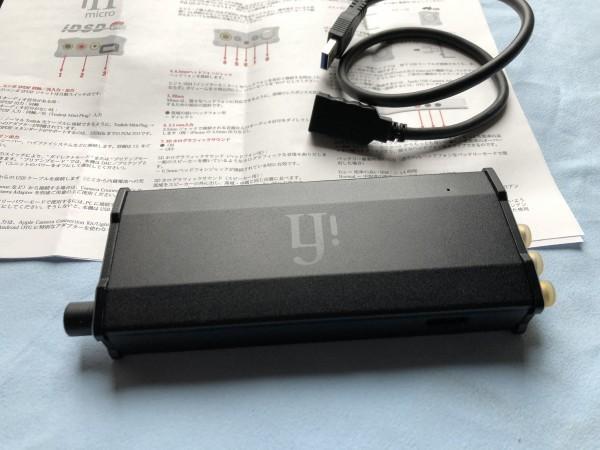★ iFi Audio ヘッドホンアンプ・DAC iFi micro iDSD Black Label(中古品) ★_画像9