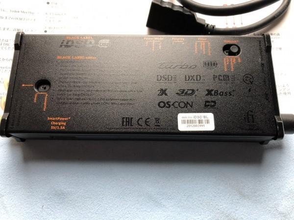 ★ iFi Audio ヘッドホンアンプ・DAC iFi micro iDSD Black Label(中古品) ★_画像5