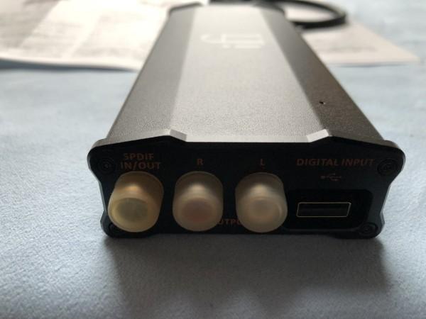 ★ iFi Audio ヘッドホンアンプ・DAC iFi micro iDSD Black Label(中古品) ★_画像4