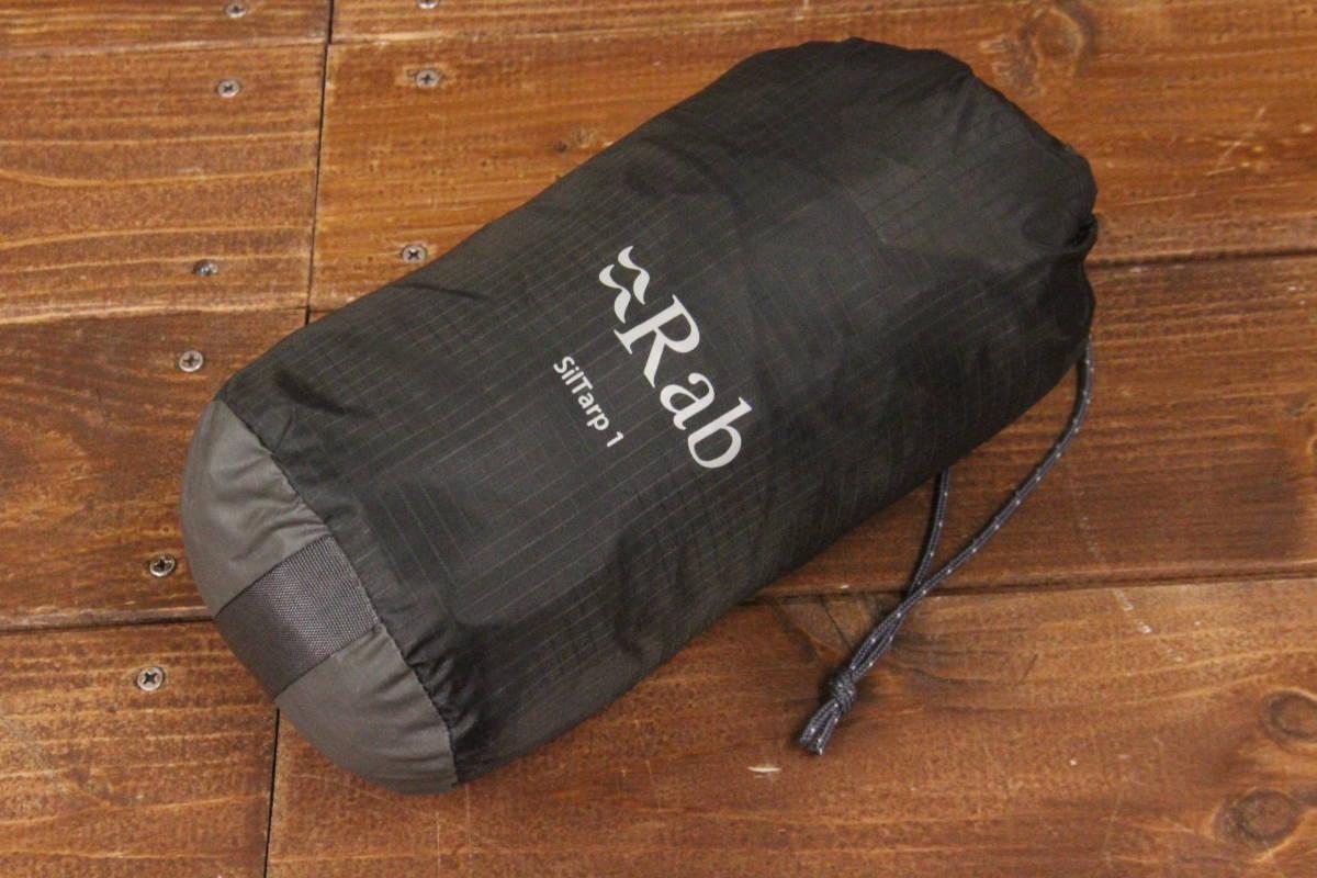 1円美品*3557* Rab Siltarp 1 ラブ シルタープ1 登山 トレキング ハイキング キャンプ アウトドア 簡易 軽量 コンパクト タープ _画像2