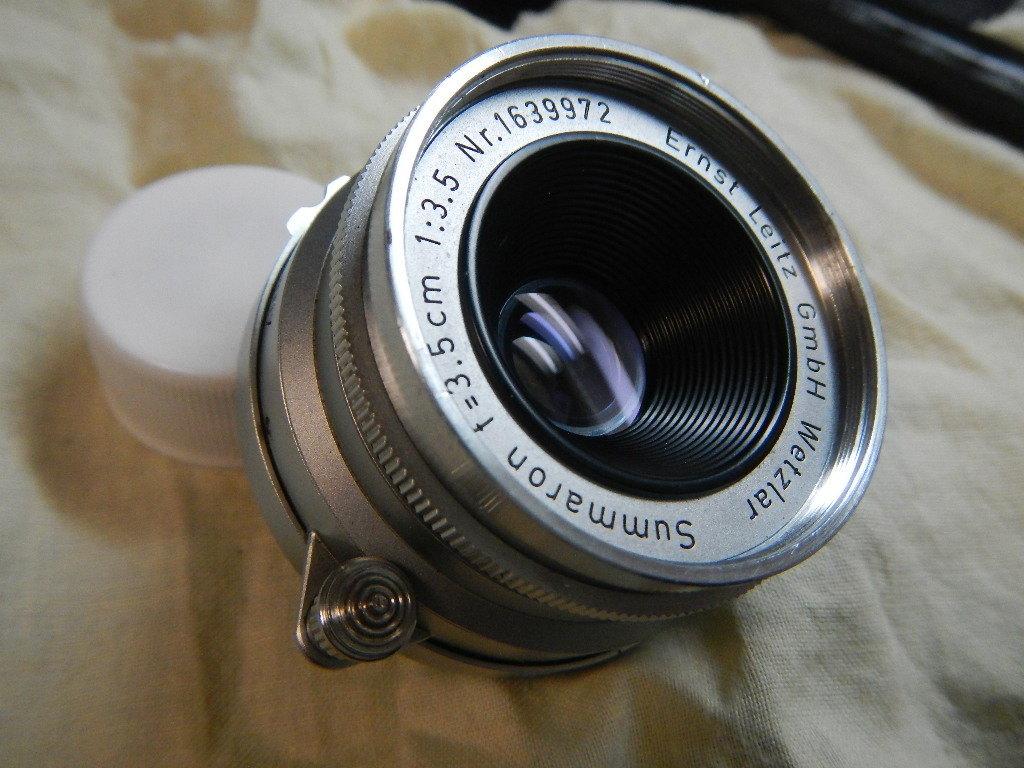 ライカ ズマロン 35mmf3.5 Lマウント 検索M3 ニコンS