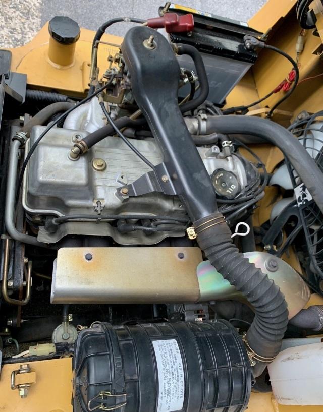 三菱 中古フォークリフト ガソリン 2.5t FG25D 格安_画像9