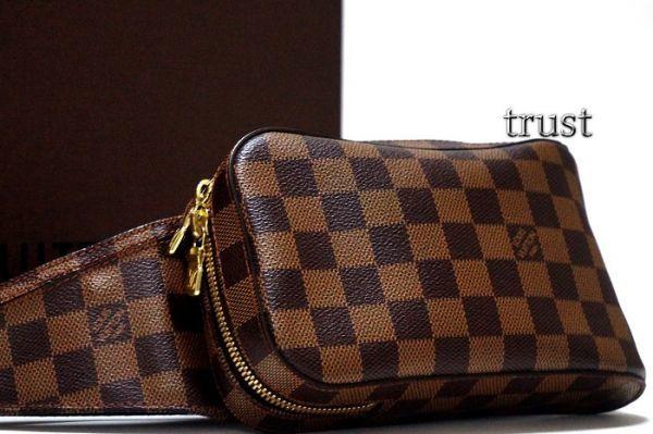【極美品】ルイヴィトン Louis Vuitton ダミエ ジェロニモス ボディバッグ ショルダーバッグ カバン  新型 メンズ 正規品