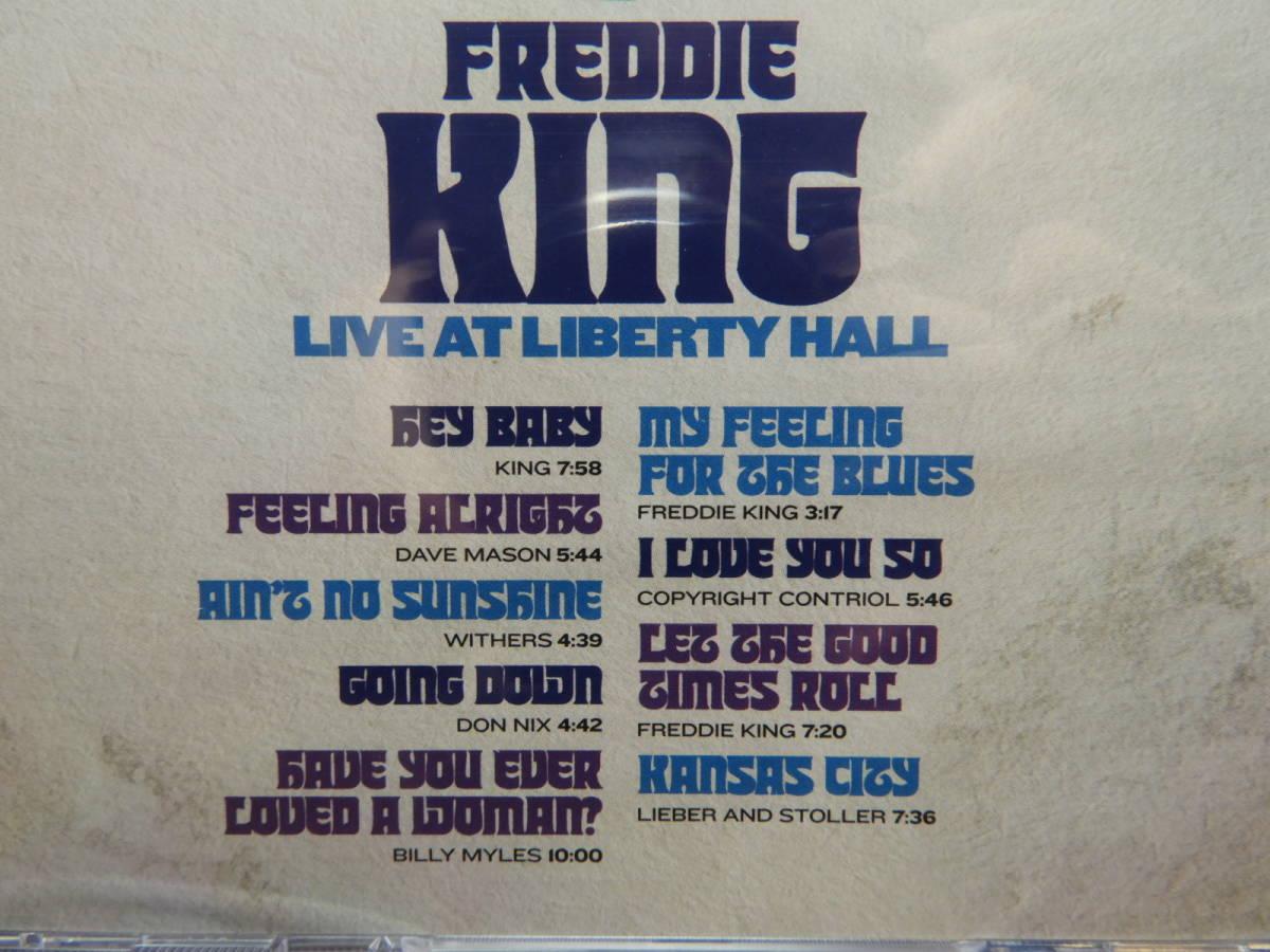[新品CD] Freddy King フレディ・キング/Live At Liberty Hall 輸入盤_画像4