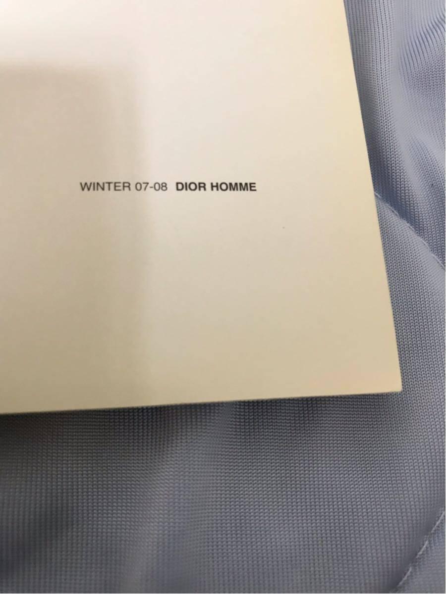【即決】【非売品】 07AW DIOR HOMME ディオールオム ルックブック カタログ 即決早い者勝ち_画像7