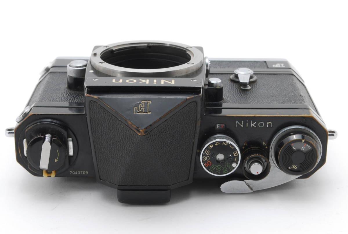 希少コレクター品● Nikon F アイレベル ブラック トリガーワインダー ニコン 限定生産品 Trigger winder_画像5