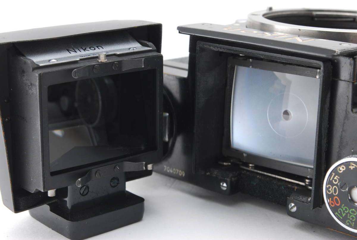 希少コレクター品● Nikon F アイレベル ブラック トリガーワインダー ニコン 限定生産品 Trigger winder_画像9