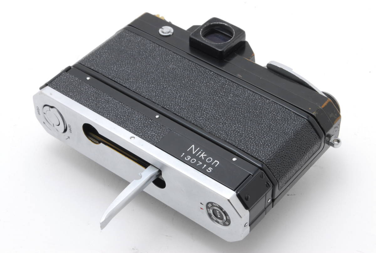 希少コレクター品● Nikon F アイレベル ブラック トリガーワインダー ニコン 限定生産品 Trigger winder_画像2