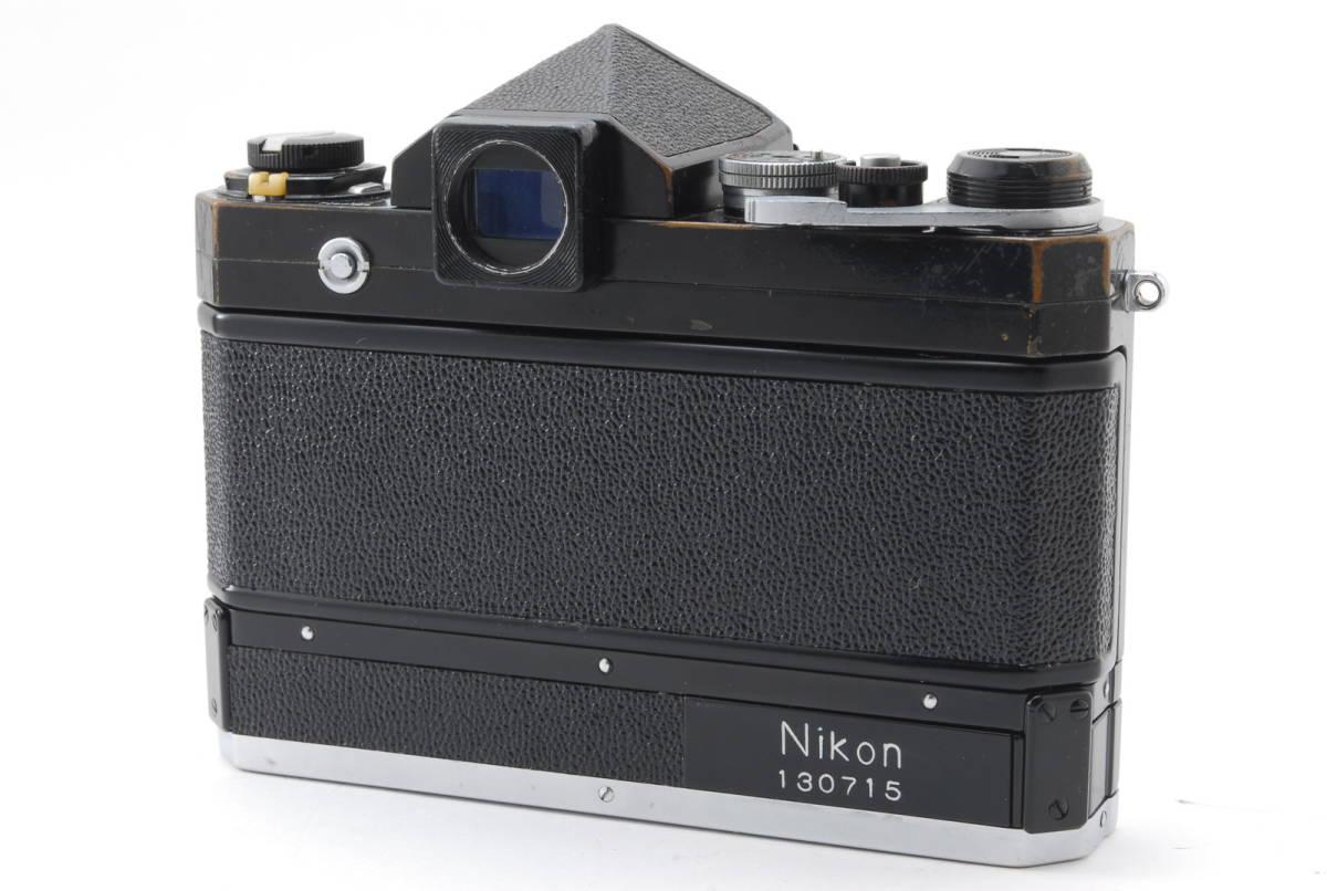 希少コレクター品● Nikon F アイレベル ブラック トリガーワインダー ニコン 限定生産品 Trigger winder_画像4