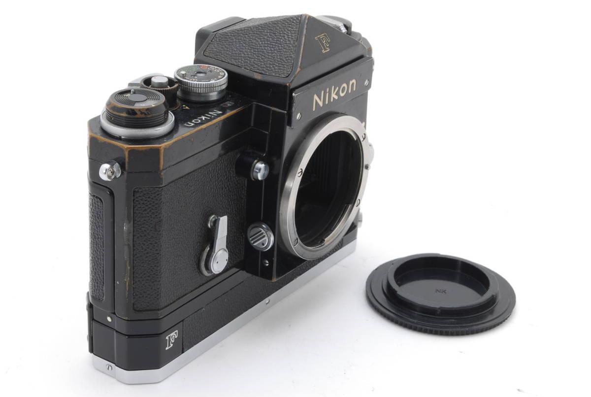 希少コレクター品● Nikon F アイレベル ブラック トリガーワインダー ニコン 限定生産品 Trigger winder_画像3