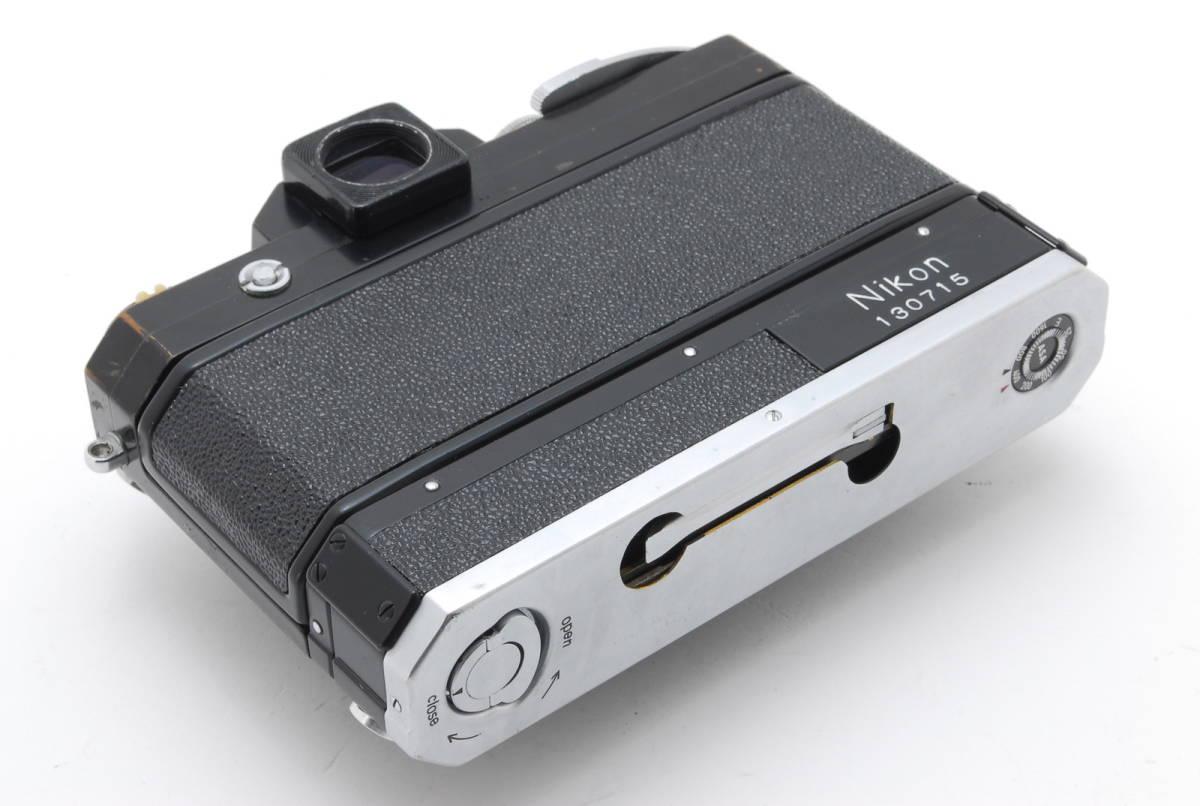 希少コレクター品● Nikon F アイレベル ブラック トリガーワインダー ニコン 限定生産品 Trigger winder_画像7