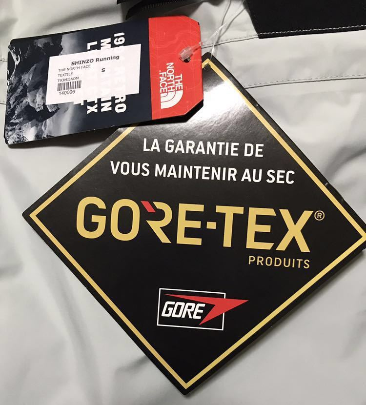 【海外限定 Sサイズ】 The North Face 1994 Retro Mountain Light GTX Jacket GREY マウンテン ライト ジャケット グレー 新品 正規品 _画像8