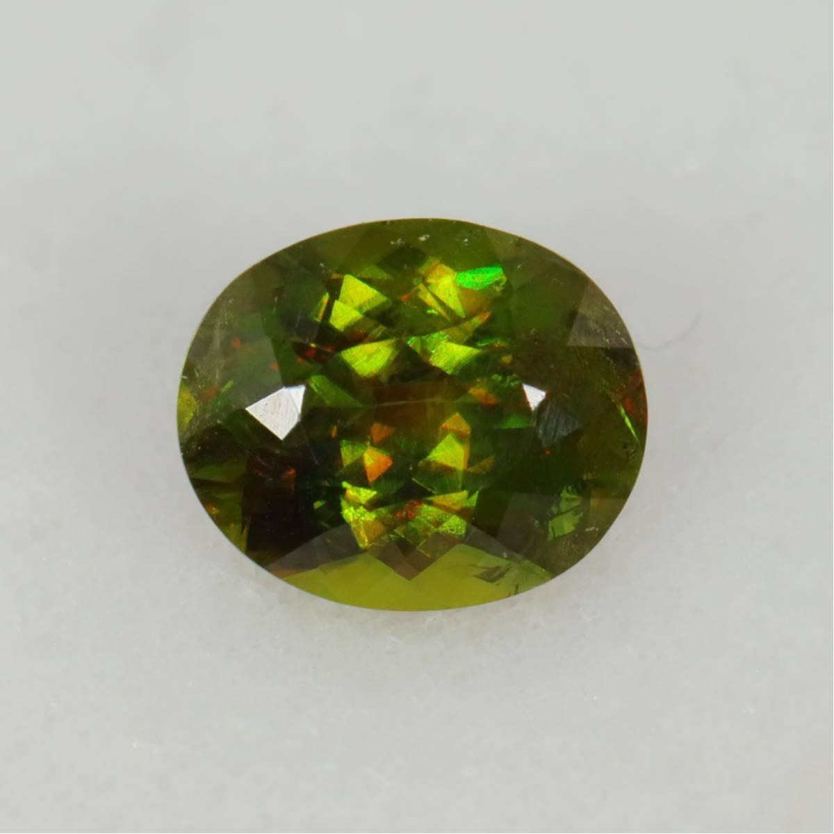 『天然クロムスフェーン』1.92ct アフガニスタン産 ルース 宝石 コレクター必見