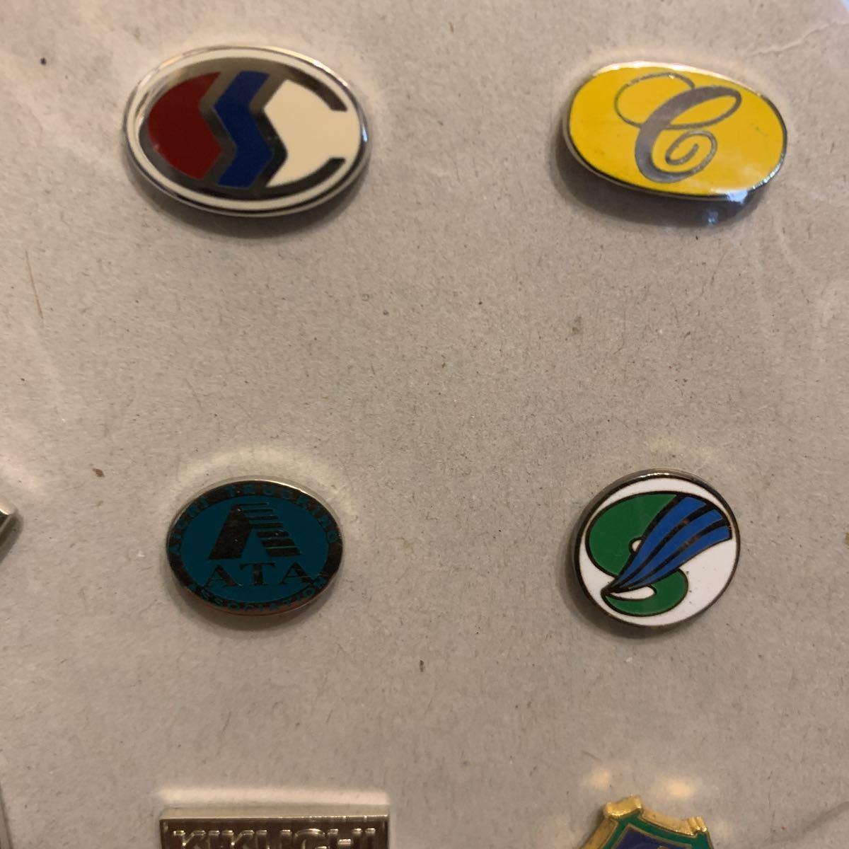 貴重 JR東日本、かんぽ、Purinaなど ピンバッジセット ピンズ 非売品 社章 襟章 レトロ 昭和_画像7