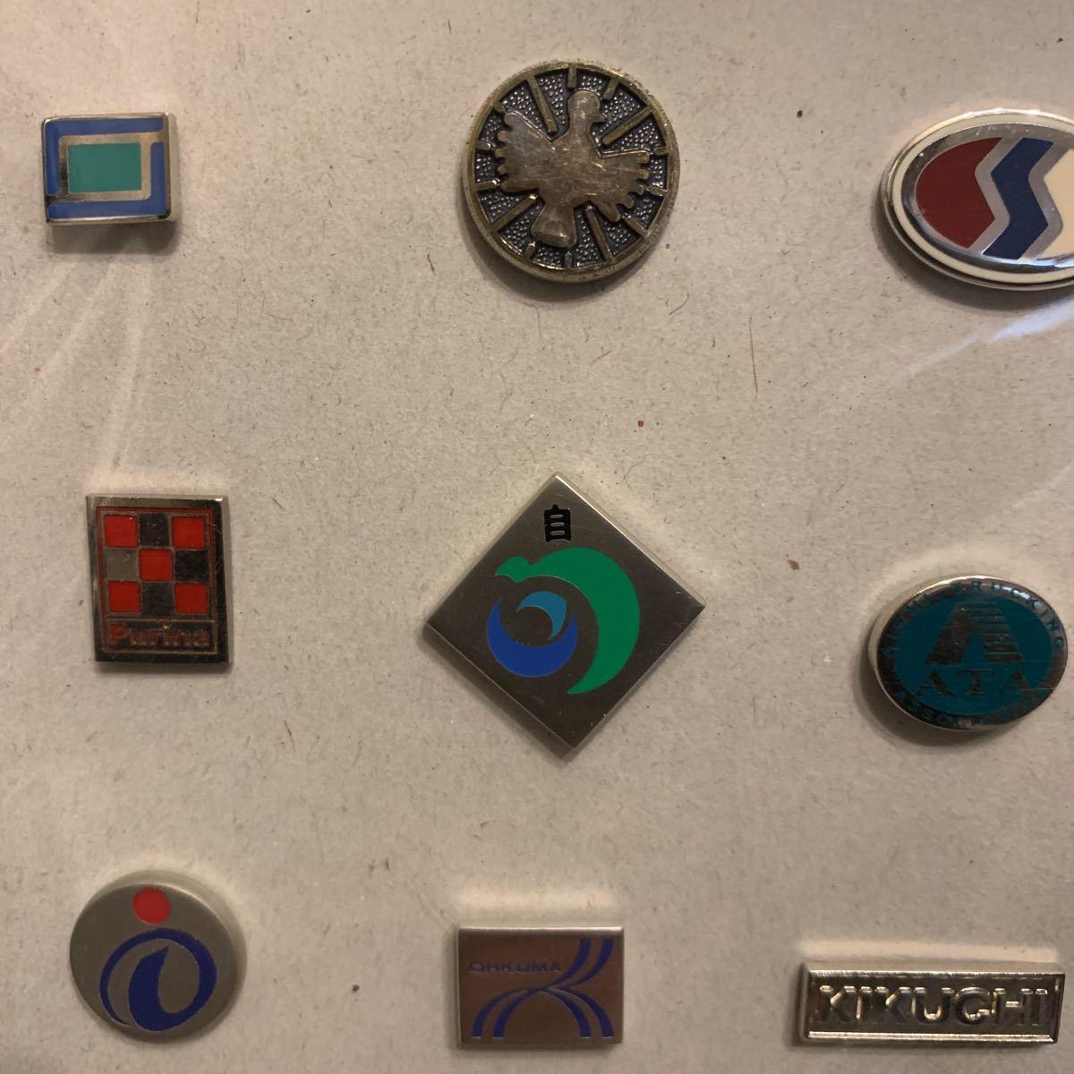 貴重 JR東日本、かんぽ、Purinaなど ピンバッジセット ピンズ 非売品 社章 襟章 レトロ 昭和_画像6