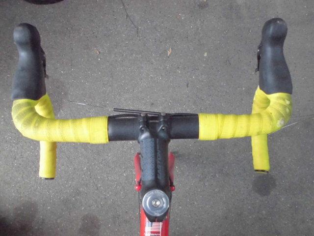 ★格安売切★cannondale/キャノンデール キャド9/CAAD9 自転車 ロードバイク レッド 軽量フレーム 50size 中古!!_画像7
