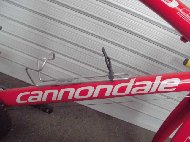 ★格安売切★cannondale/キャノンデール キャド9/CAAD9 自転車 ロードバイク レッド 軽量フレーム 50size 中古!!_画像8