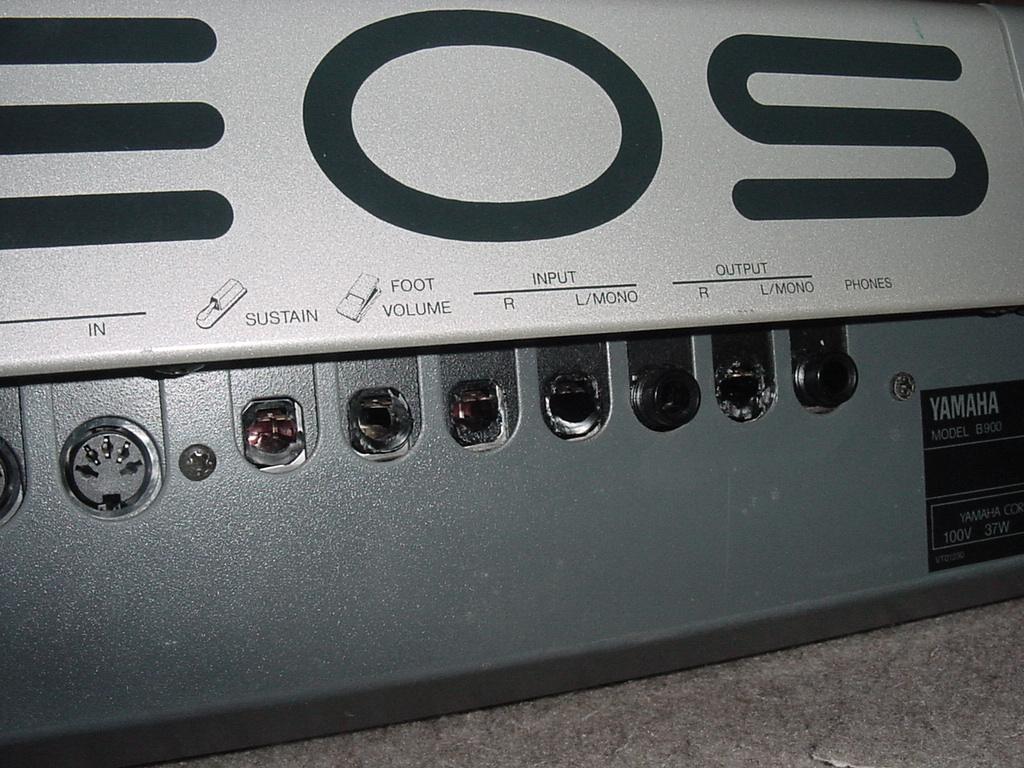 YAMAHA シンセサイザー 61鍵盤 EOS B900 難有り_画像5