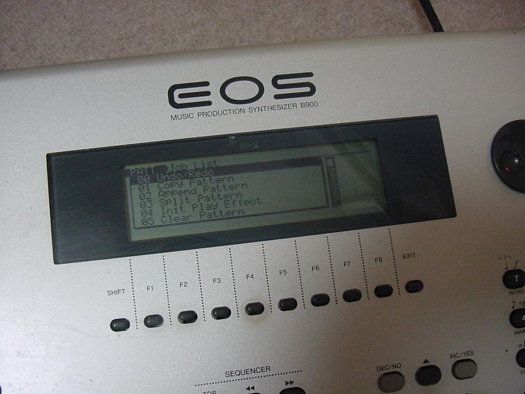 YAMAHA シンセサイザー 61鍵盤 EOS B900 難有り_画像6