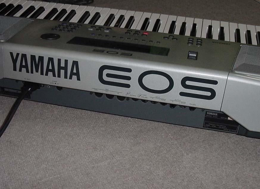 YAMAHA シンセサイザー 61鍵盤 EOS B900 難有り_画像9