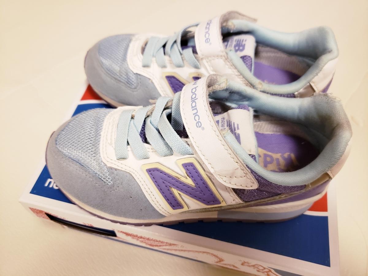 dd5f5c5424114 代購代標第一品牌- 樂淘letao - ニューバランス996 17.5cm NB ブルーパープル靴キッズシューズ子供用シューズ