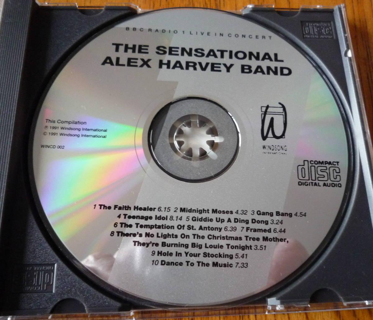 ■【美品CD】 THE SENSATIONAL ALEX HARVEY BAND - BBC RADIO 1 LIVE IN CONCERT / センセーショナル・アレックス・ハーヴェイ・バンド