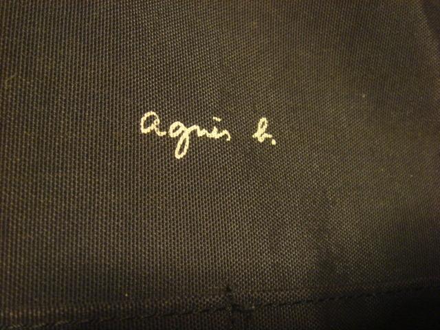 1902アニエス ベーagnesb.ナイロン ショルダーバッグ鞄BAGかばんagnis_画像3