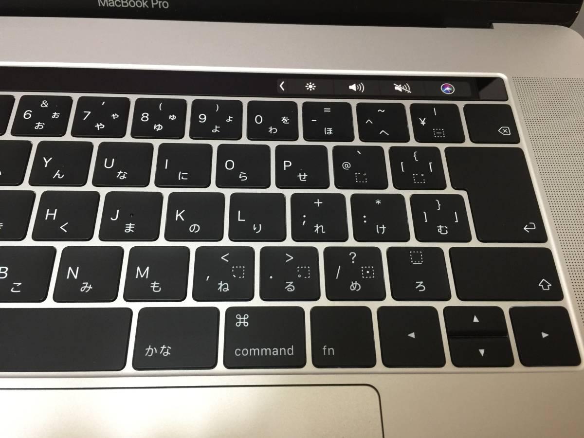 i9搭載!新品同様!MacBook Pro MR972J/A Core i9 2.9GHz/メモリ16GB/SSD512GB/Touch Bar/(15-inch, 2018)_画像4