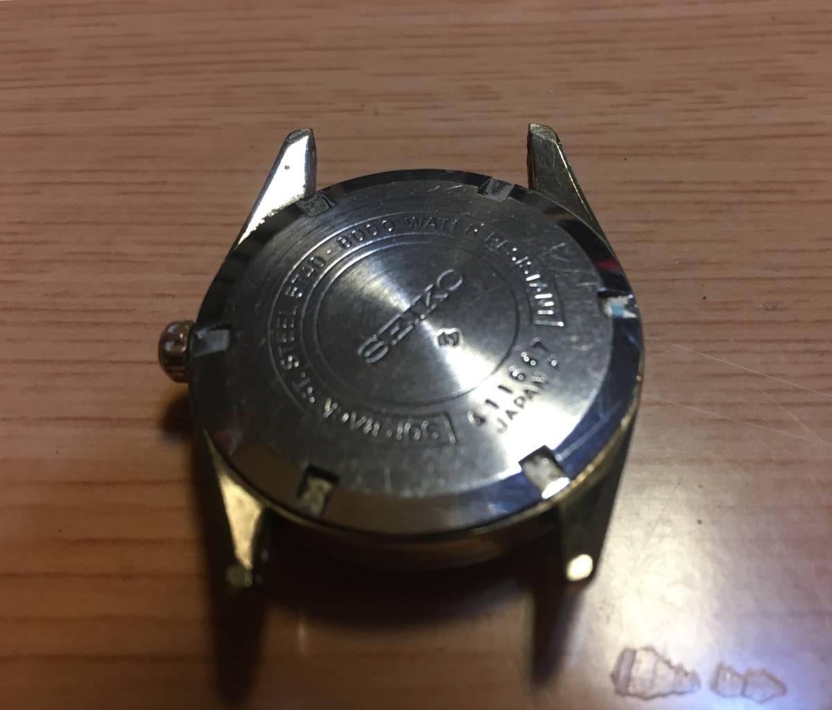 セイコー 機械時計ロードマーベル中古現状品_画像2