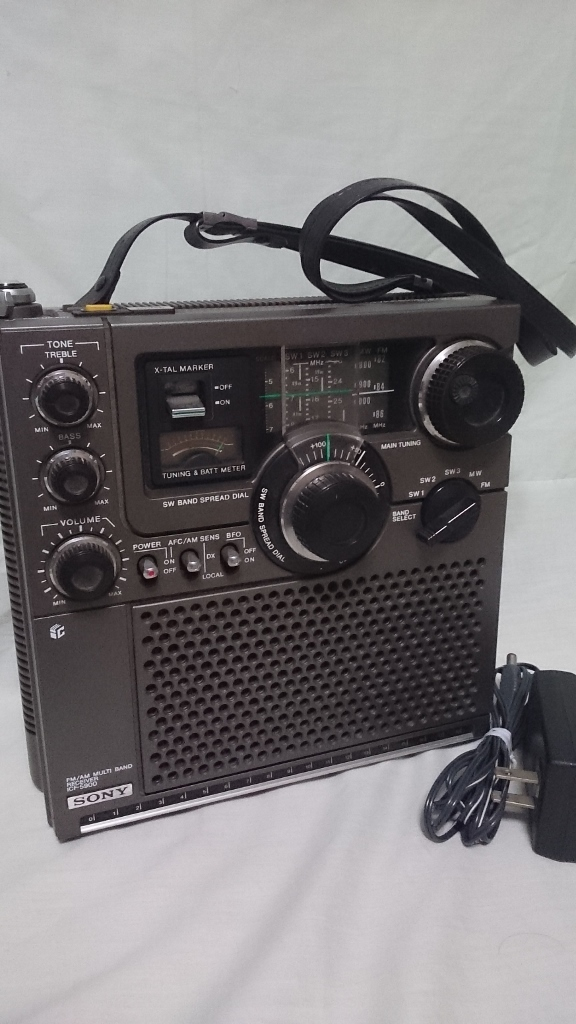 SONY(ソニー)スカイセンサー ICF-5900 5バンドマルチバンドレシーバー ソニー 純正ACアダプター _画像1