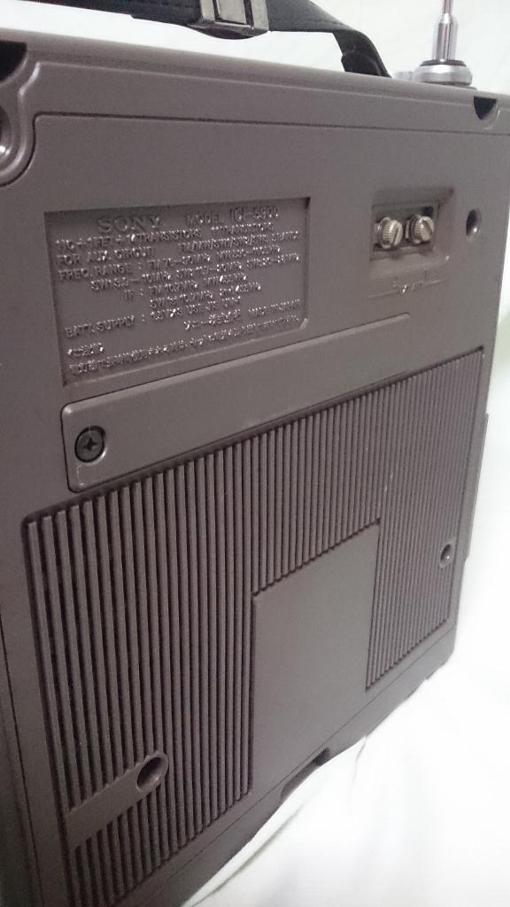 SONY(ソニー)スカイセンサー ICF-5900 5バンドマルチバンドレシーバー ソニー 純正ACアダプター _画像7