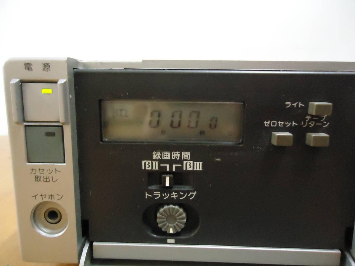 SONY Betamax ポータブル ビデオデッキ SL-F1 ジャンク品_画像3