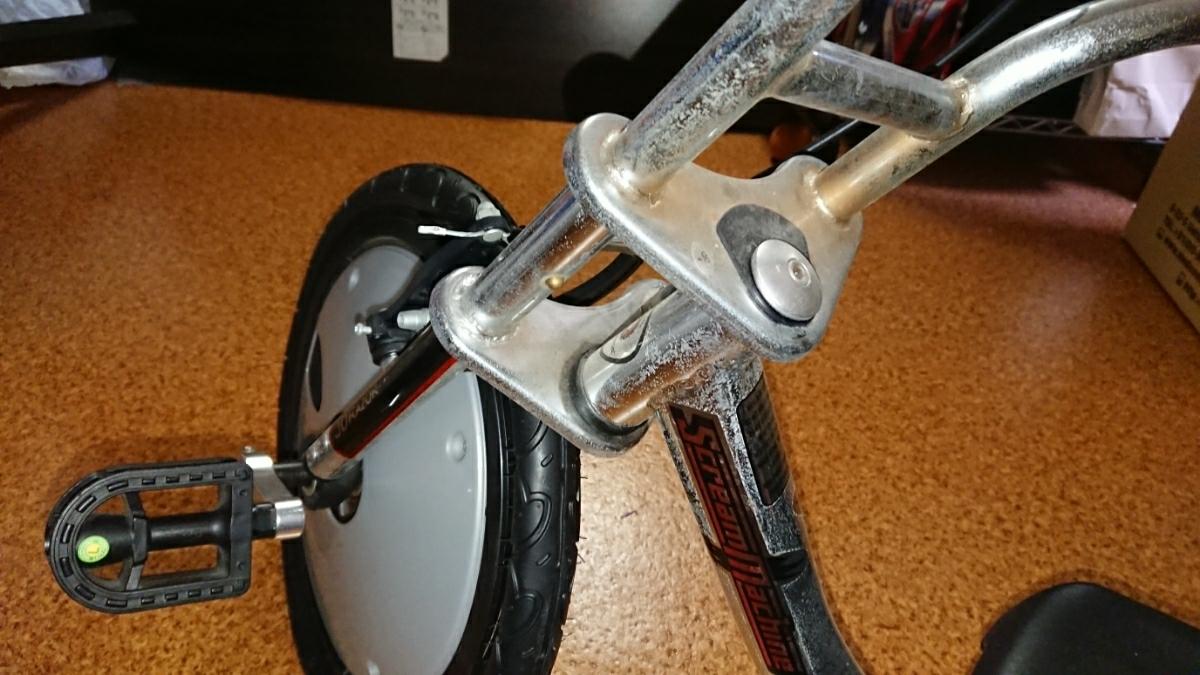 中古美品 JDRAZOR Scream Machine ドリフト 三輪車 トライク_画像5