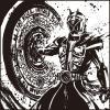 m0128u - 一番くじ 仮面ライダージオウ vol.2(B賞-8)墨式ハンドタオル ウィザード
