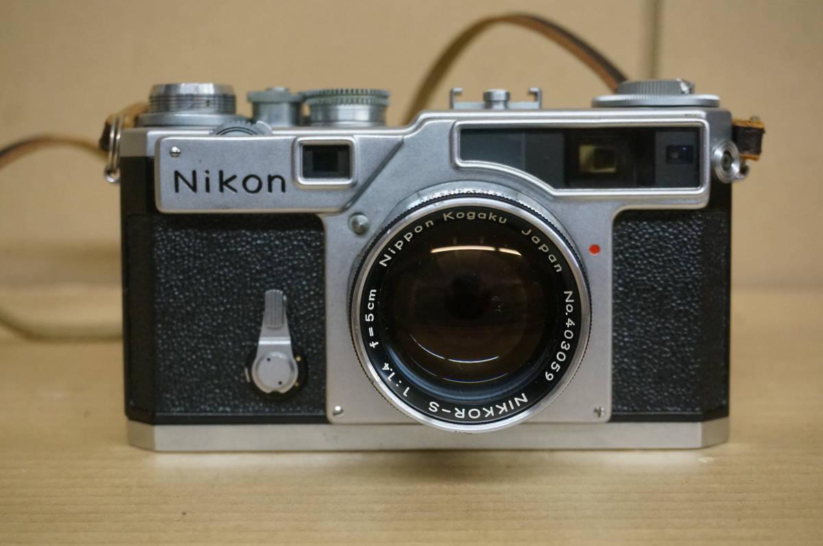 ニコン レンジファインダー SP+nikkor-s F1.5/5cm 中古美品_画像2