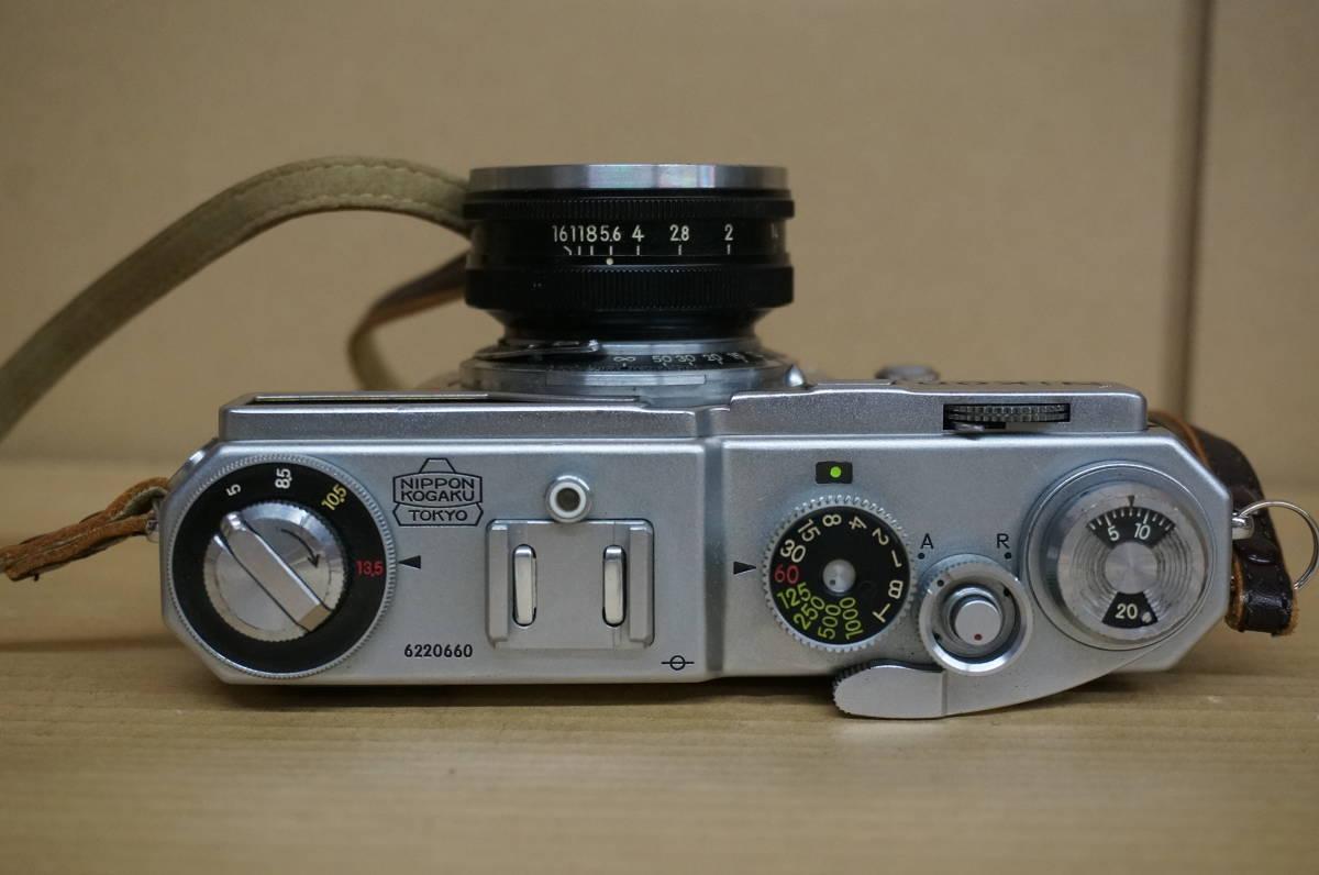 ニコン レンジファインダー SP+nikkor-s F1.5/5cm 中古美品_画像3