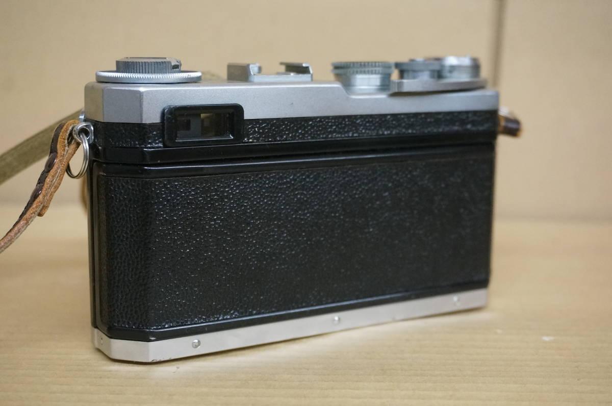 ニコン レンジファインダー SP+nikkor-s F1.5/5cm 中古美品_画像4