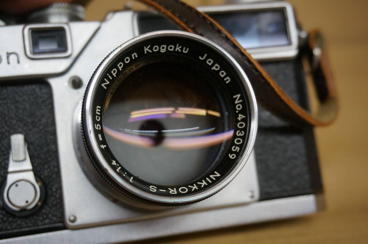ニコン レンジファインダー SP+nikkor-s F1.5/5cm 中古美品_画像6