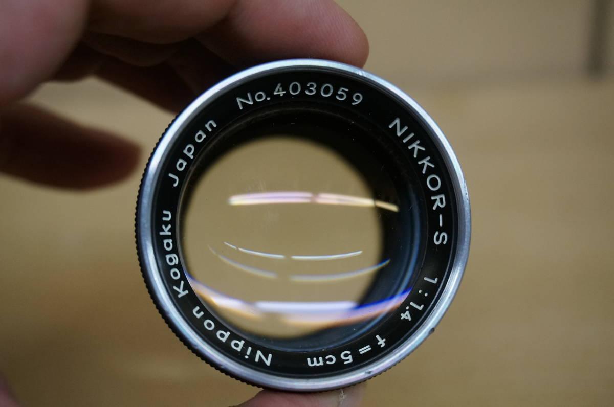 ニコン レンジファインダー SP+nikkor-s F1.5/5cm 中古美品_画像9
