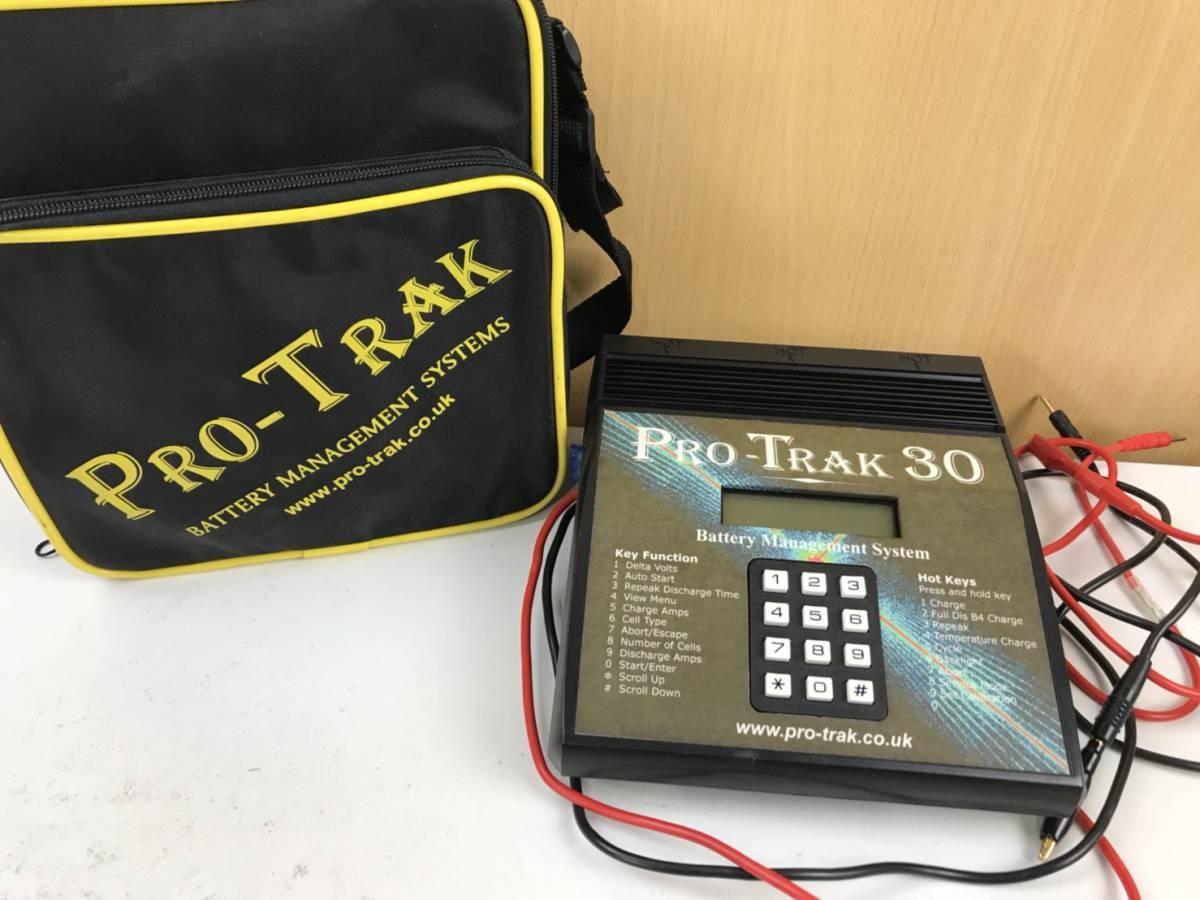 (99) PRO-TRAK 30 プロトラック30 バッテリーマネジメントシステム 袋付き 美品_画像1