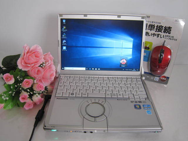 ☆高速新品SSD256GB!windows10 レッツノート 8GB/256GB