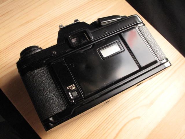 オリンパス★「OLYMPUS OM-10 :ブラックペイント」~作動品、マニュアルアダプター&DATE付属 ZUIKO、Nikon,Canon,PENTAX,MINOLTA好きにも_画像6