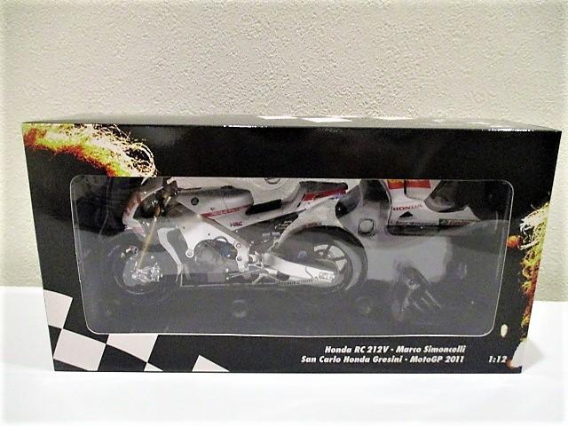 1/18 ホンダ RC212V マルコ・シモンチェリ San Carlo Honda Gresini Moto GP 2011_画像3