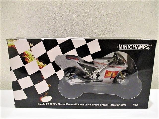 1/18 ホンダ RC212V マルコ・シモンチェリ San Carlo Honda Gresini Moto GP 2011_画像4