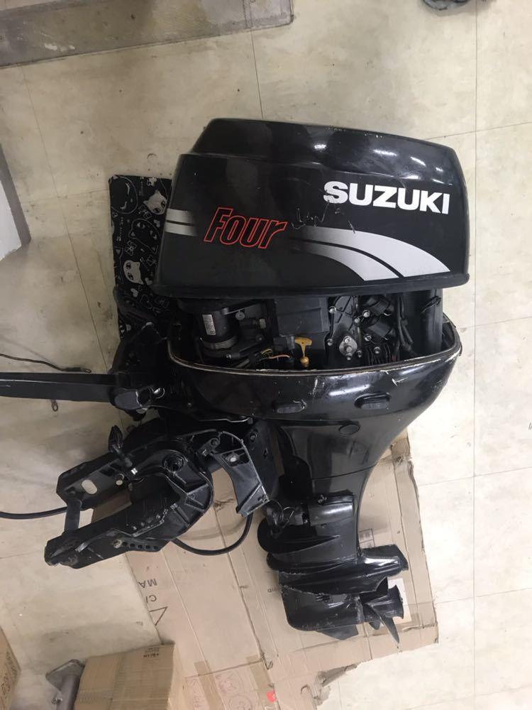 SUZUKI スズキ 船外機 25馬力 DF25 02501F 現状品 引取限定 !_画像1