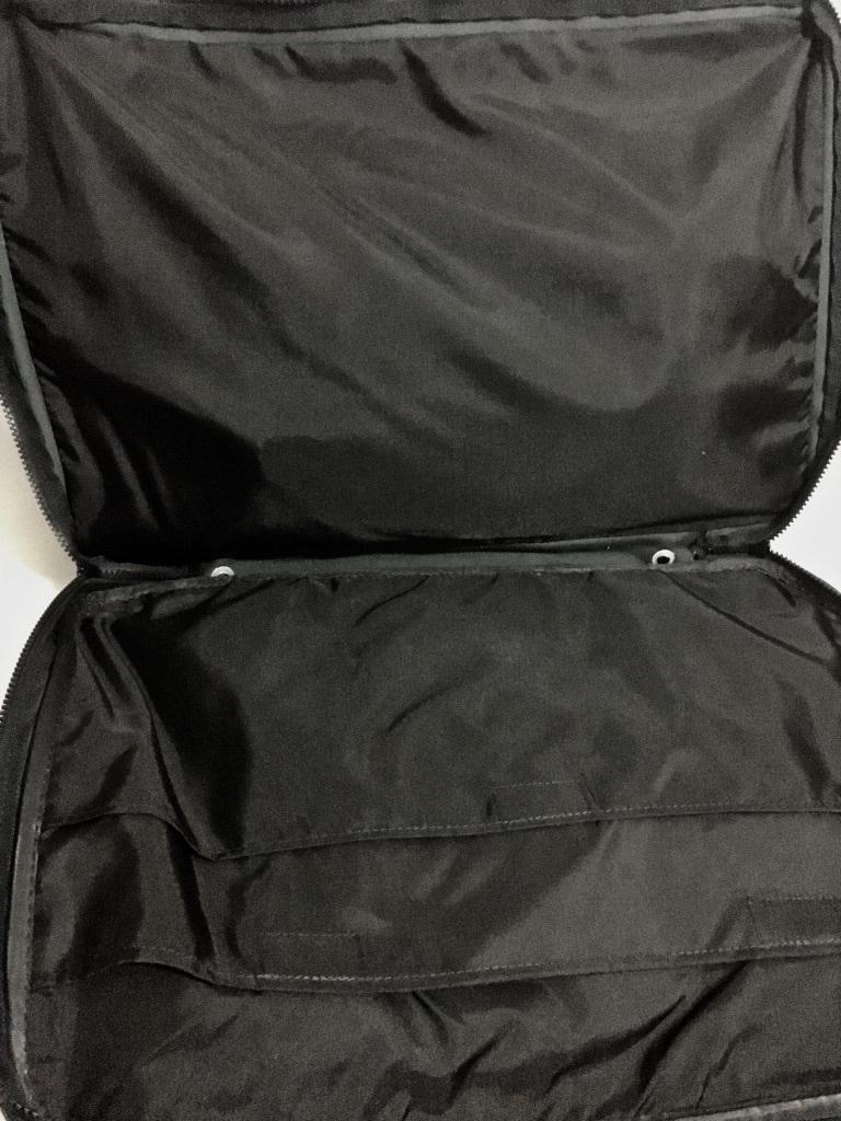 80's~90's ビンテージ☆LACOSTE ラコステ ショルダーバッグ ワニロゴ 日本製 オールド トラベルバッグ 旅行バッグ 特大 大容量 ネイビー_画像9