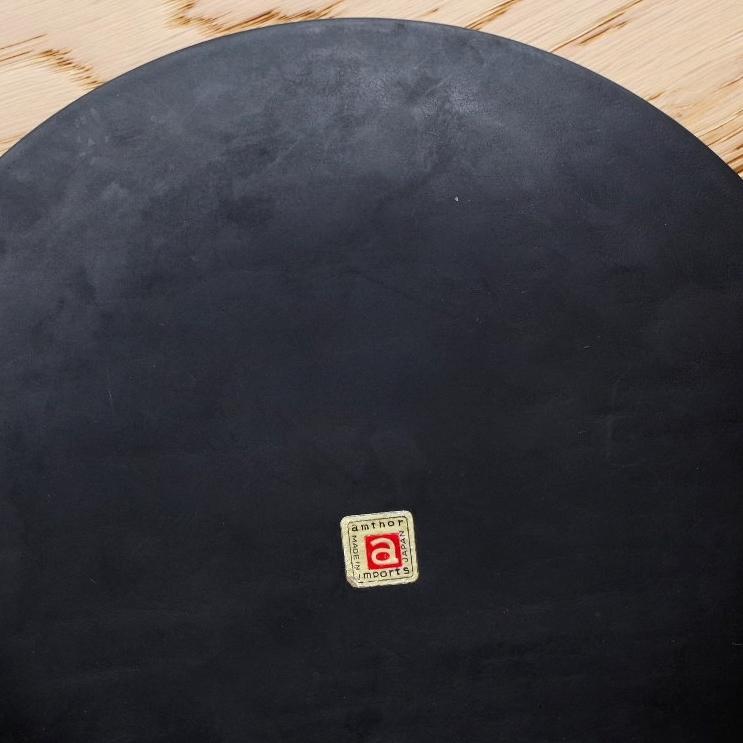 ビンテージ 日本製 TEAK チーク 壁掛け 電波時計 壁掛け時計 プレート 木製 木目 北欧風_画像3